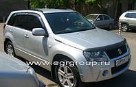 Защита передних фар прозрачная Suzuki Grand Vitara 2005-