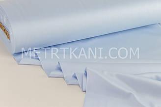 Сатин премиум голубого цвета, ширина 240 см № ПС-0020
