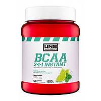 Незамінні аміникислоти UNS BCAA 2-1-1 Instant - 500g яблуко та м'ята