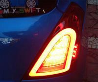 Задние LED фонари для Suzuki Swift