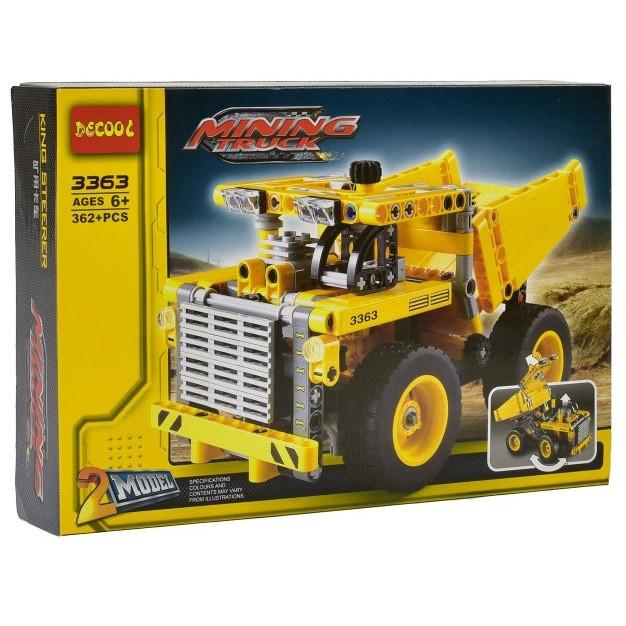 Конструктор Decool Карьерный грузовик 362 детали