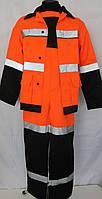 """Костюм """"Рефлекс"""" (полукомбинезон +курточка). Костюм сигнальный, оранжевый., фото 1"""