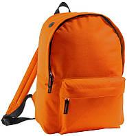 Рюкзак фирмы Rider оранжевого цвета