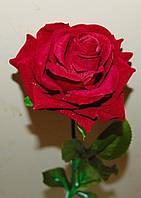 """М-467 Роза одиночная """"Королева ночи"""" 10х65 см, фото 1"""