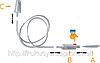 Оптом вакуумный назальный аспиратор-соплеотсос Ariana