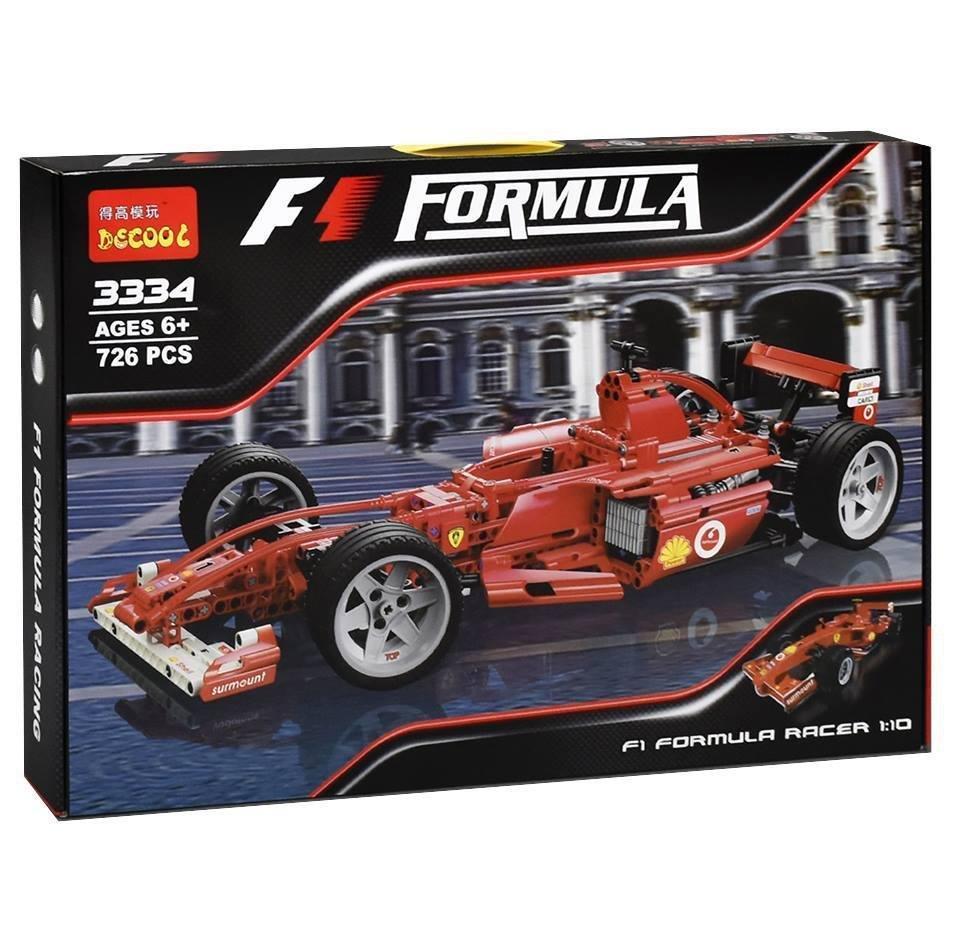 Конструктор Decool Formula-1 Ferrari  726 деталей