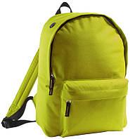 Рюкзак фирмы Rider салатового цвета