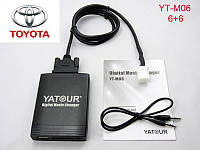 Эмулятор cd чейнджера Yatour TOY2 с aux usb sd card для штатной магнитолы Lexus