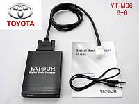 Флешка сд карта аукс адаптер ЯТУР Yatour TOY2 для штатной магнитолы Lexus