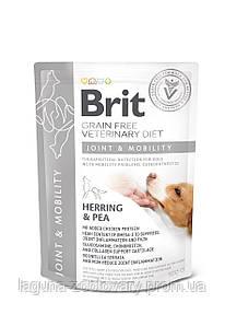 Brit GF VetDiets Dog Mobility 12 kg для суставов с селедкой, лососем, горохом и гречкой