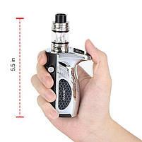 Електронна сигарета Smok Mag Grip 100W & TFV8 Baby V2 EU Original (Prism Chrome & Black| Вейп стартовий набір, фото 3