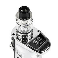 Електронна сигарета Smok Mag Grip 100W & TFV8 Baby V2 EU Original (Prism Chrome & Black| Вейп стартовий набір, фото 2