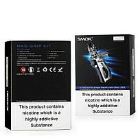 Електронна сигарета Smok Mag Grip 100W & TFV8 Baby V2 EU Original (Prism Chrome & Black| Вейп стартовий набір, фото 4