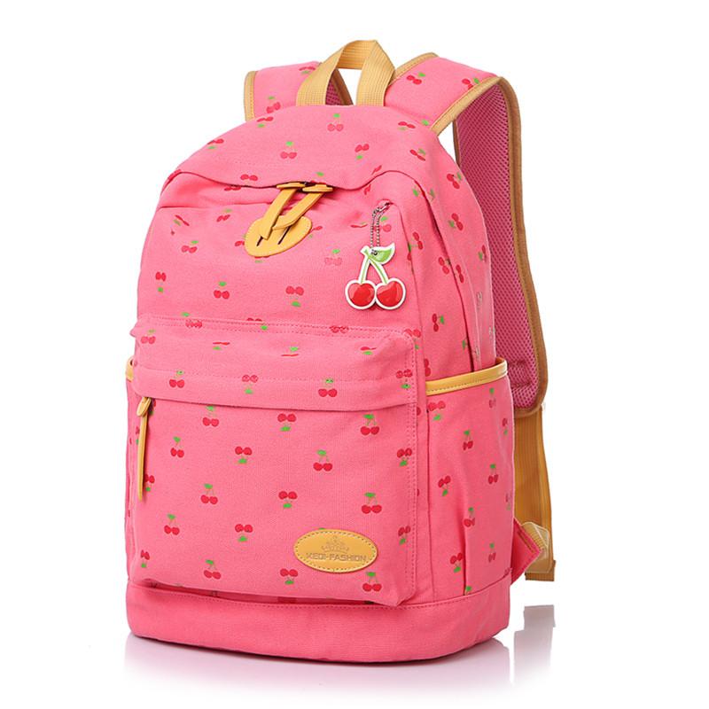 Рюкзак женский школьный городской Cherry