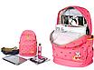 Рюкзак женский городской Вишенка Розовый, фото 2