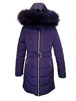 Зимнее пальто для девочки Ника, фото 1