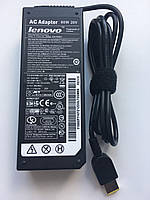 Зарядка,Блок питания для ноутбука Lenovo 20V 4.5A 90W Usb pin прямоугольный штекер