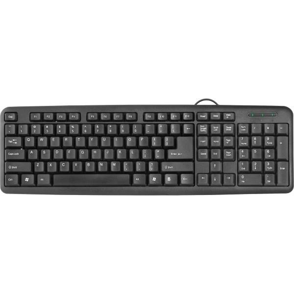 Клавіатура Defender HB-420 Black (45420)