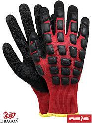 Защитные рукавицы утепленные, с покрытием DRASCALE CB