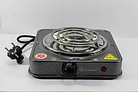 Электроплита Domotec MS-5801 электрическая плита настольная бытовая для дачи, дома 1000Вт