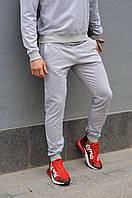 Серые спортивные штаны мужские / Мужские спортивные брюки весна/лето/осень