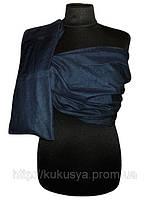 Оптом Слинг с кольцами темно-синий джинс., фото 1