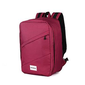 Рюкзак для ручной клади красный WascoBags 40x25x20 RW Cherry (Wizz Air / Ryanair)