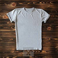 Серая мужская футболка / Футболки с надписями на заказ