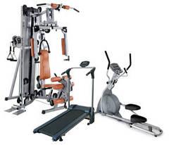 Тренажеры для спорта, фитнеса, йоги