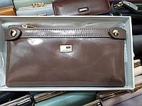 Кошелек женский кожаный JCCS 1006 светло-коричневый гладкий на два отдела, фото 1