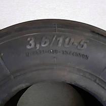 Покрышка 3,6/10-5 картинг передняя, DAKO, фото 2