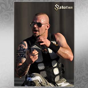 Плакат Sabaton Мелованная бумага, 001
