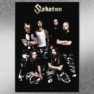 Плакат Sabaton Мелованная бумага, 002