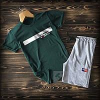 Cпортивные Мужские шорты и футболка Tommy Jeans (Томми Джинс, Томми Хилфигер) / Летние комплекты для мужчин