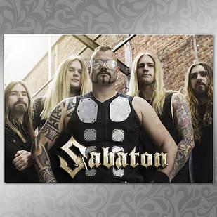 Плакат Sabaton Мелованная бумага, 003