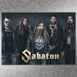 Плакат Sabaton Мелованная бумага, 004