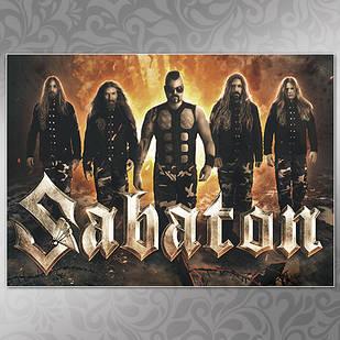 Плакат Sabaton Мелованная бумага, 005