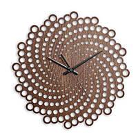 Деревянные настенные часы Moku Fuji 38 x 38 см (M3714)