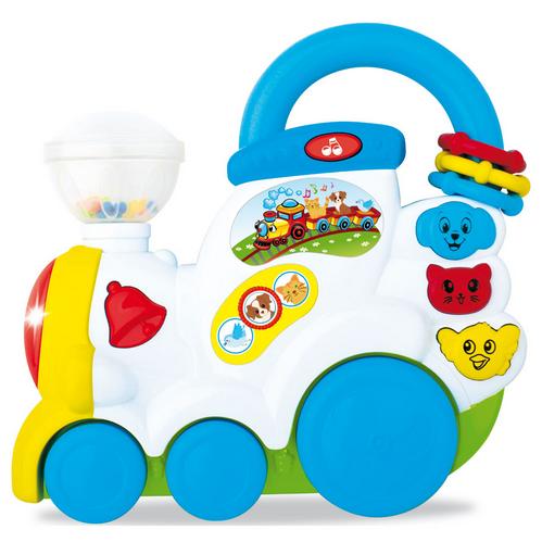 Музичний іграшковий паровозик.Музичний Паровозик для дітей.