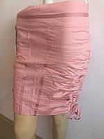 Женская юбка розовая