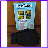 Щетка перчатка для вычесывания шерсти домашних животных True Touch, фото 9