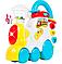 Музичний іграшковий паровозик.Музичний Паровозик для дітей., фото 2