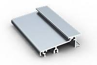 Профиль алюминиевый - порог для ПВХ дверей (200 мм)