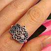 Серебряное кольцо Хамса - Кольцо рука Фатимы из серебра, фото 8