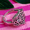 Серебряное кольцо Хамса - Кольцо рука Фатимы из серебра, фото 5