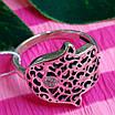 Серебряное кольцо Хамса - Кольцо рука Фатимы из серебра, фото 3