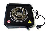 Электрическая плита, таганок Domotec MS-5531 настольная бытовая 1 широкая спираль для дачи, дома 1000Вт