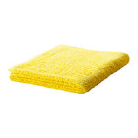HÄREN Полотенце, ярко-желтый, 50х100