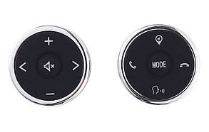 Кнопки управління магнітолою на кермі JETION T-3S02, універсальні з підсвічуванням LED