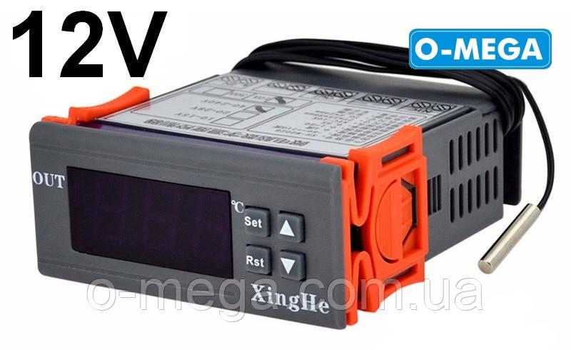 Терморегулятор цифровой 12v высокоточный W2028 с порогом включения 0.1 градус